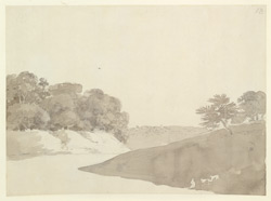 River scene perhaps near Barh (Bihar). c. November 1788 2029
